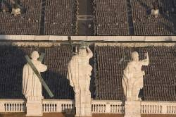 St Peters Basilica Statues Vatican Rome Italy