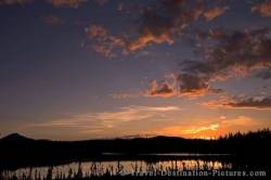 Beaver Creek Sunset Yukon Territory Canada