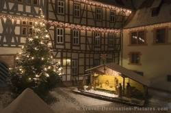 Christmas Lights Michelstadt