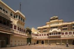 City Palace Of Jaipur India