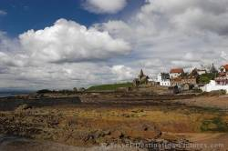 Coastline Of St Monans Forth Of Fife Scotland