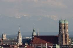 Frauenkirche Alps Germany