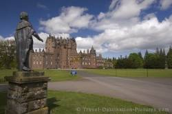 Glamis Castle Scotland Highlands