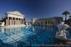 Hearst Castle Swimming Pool California