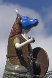 Picture Of A Highland Cow Statue