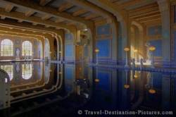 Indoor Pool Hearst Castle California USA