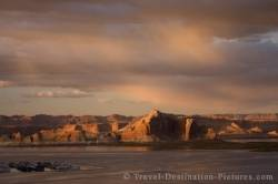 Lake Powell Sunset Arizona USA