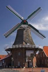 Mill Of Westgrossefehn Northwest Germany