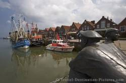 Neuharlingersiel Harbour Germany Europe