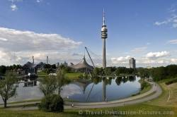 Olympic Park Lake Munich