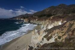 Pacific Coast Highway 1 California Coastline USA