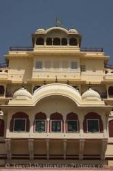 City Palace Architecture Jaipur India