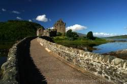 Restored Scottish Castle Of Eilean Donan
