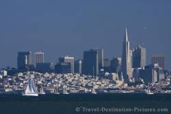 San Francisco Skyline California USA
