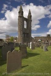 St Andrews Cathedral Ruins Scotland