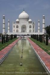 Taj Mahal Architecture Agra India