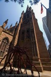 Trinity Church Monument New York