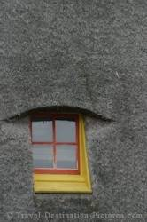 Windmill Building Window