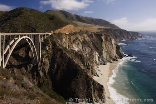 Big Sur Scenery California Coast USA