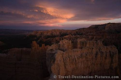 Bryce Canyon Sunset Utah USA