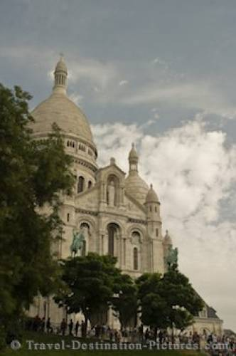 Sacre Coeur Church Architecture Paris France
