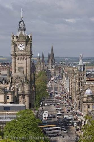Picture Of Edinburgh Scotland