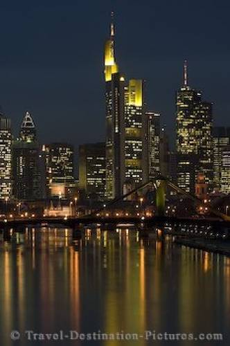 Frankfurt Night Lights