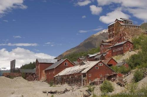 Kennecott Mine Alaska USA