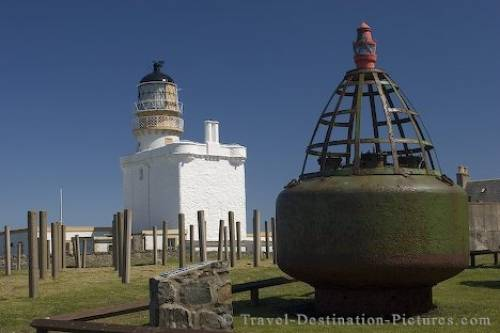 Kinnaird Head Lighthouse Scotland