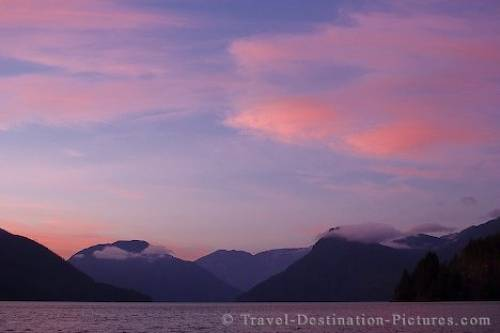 Knight Inlet Scenery British Columbia Canada