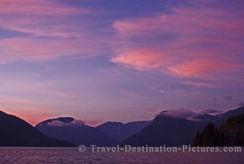 Knight Inlet Sunset