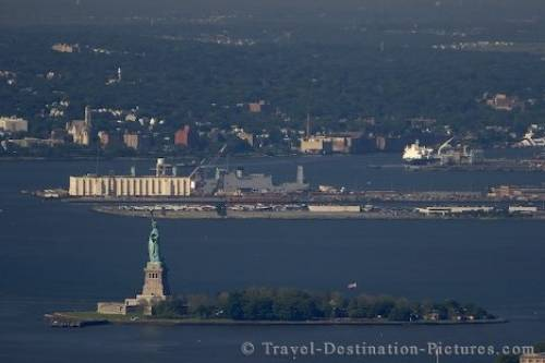 Picture Of Liberty Island