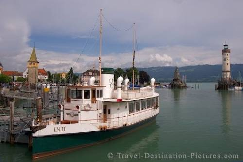 Picture Of Lindau Harbor Germany