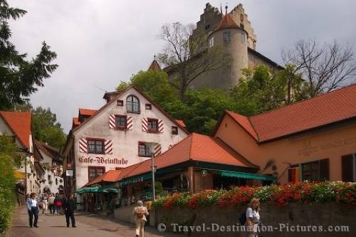Meersburg Old Castle Germany Europe