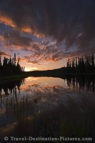 Midnight Sun Yukon