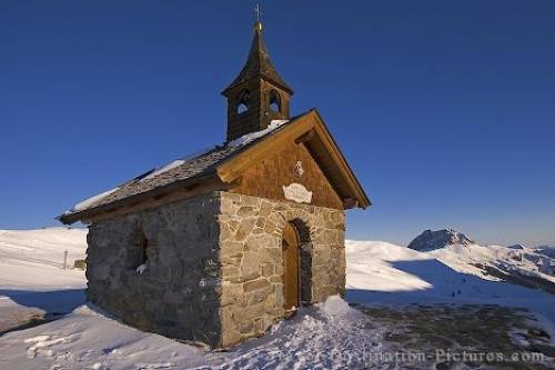 Mountain Church Pinzgau Austria