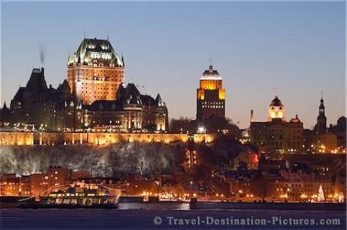WWW.TRAVELDESTINATIONPICTURES.COM :: QUEBEC CITY