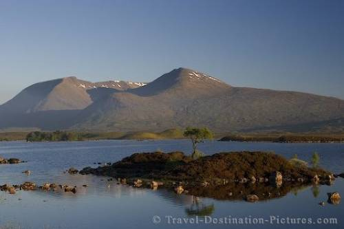 Rannoch Moor Reflections Scotland
