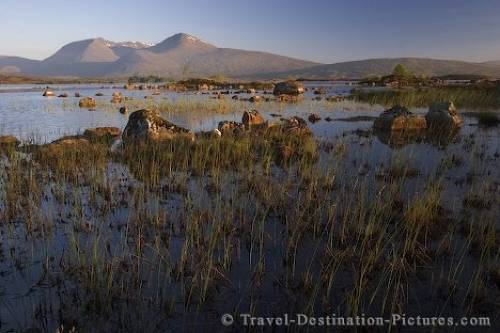 Rannoch Moor Scenery Scotland Europe