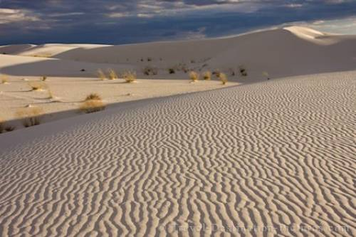 Sand Formations White Sands National Monument New Mexico USA