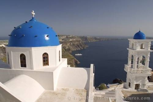 WWWTRAVELDESTINATIONPICTURESCOM SANTORINI GREECE Santorini Greece