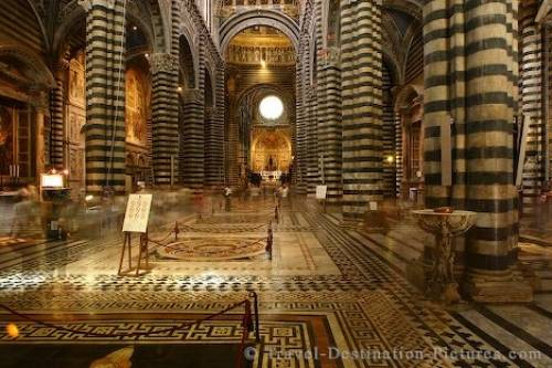 Siena Dome Interior Italy