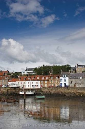 Picture Of The Town Of St Monans Scotland