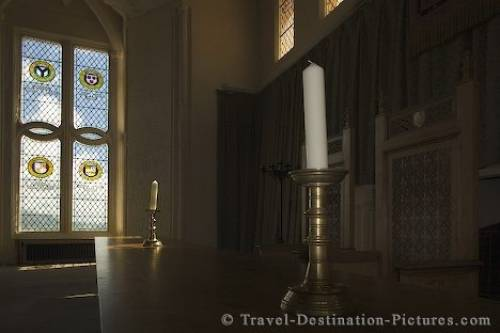Stirling Castle Throne Room Scotland