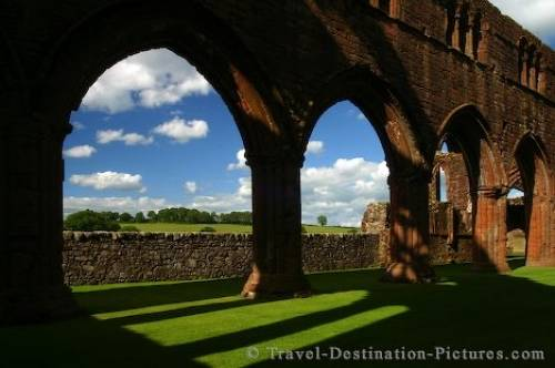 Photo Of Sweetheart Abbey Scotland