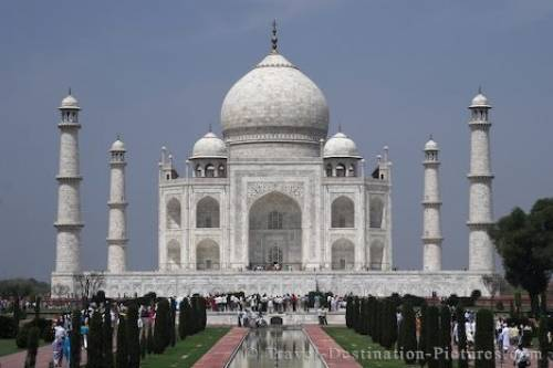 Picture Of The Taj Mahal India