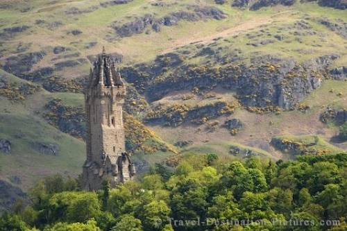 Wallace Monument Image Scotland UK