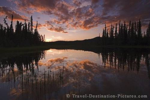 Yukon Midnight Sun