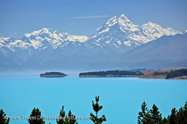 Mt Cook Canterbury New Zealand