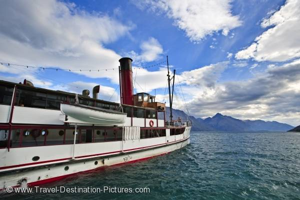 TSS Earnslaw Lake Wakatipu Queenstown New Zealand